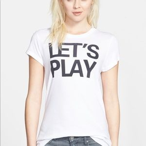 Sundry Let's Play Tee